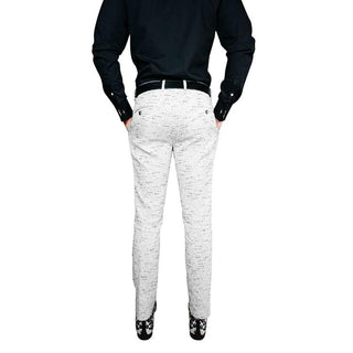 S by Sebastian Platino Tweed Trousers