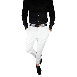 S by Sebastian White Trousers