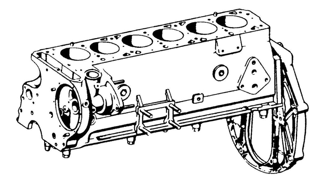 201-001	 ENGINE BLOCK