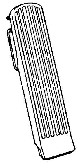 218-004 GAS PEDAL