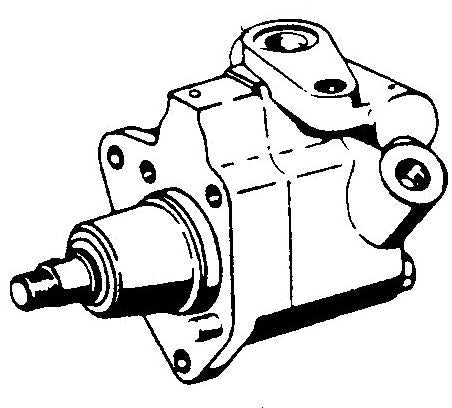 229-110 POWER STEERING PUMP