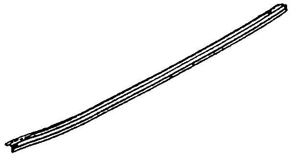 240-055 DOOR SILL TRIM - OUTER