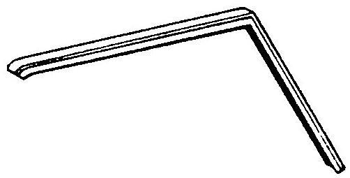 242-101 DOOR GLASS SEAL