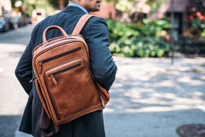 The Graham Leather Backpack