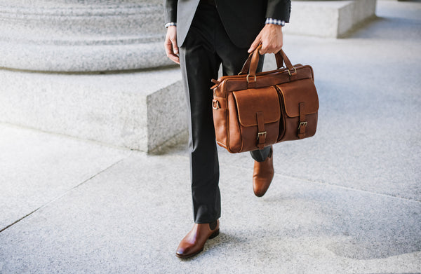 Product Feature: The Barton Briefcase