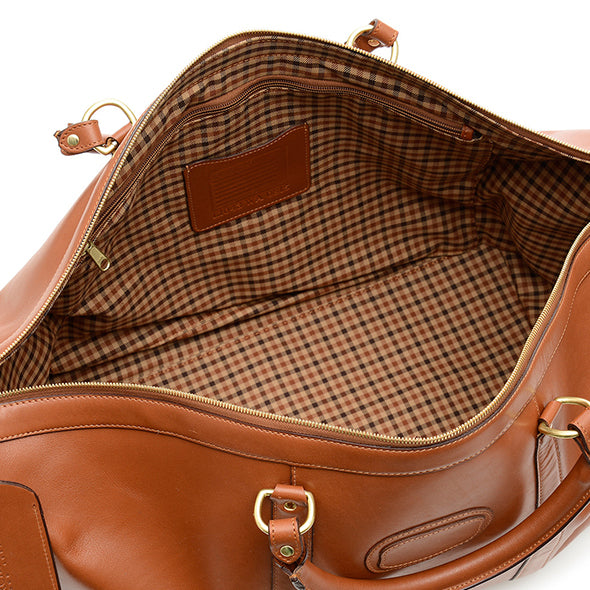 Korchmar Handcrafted 22 Quot Full Grain Leather Duffel Bag