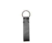 Korchmar Black leather keychain