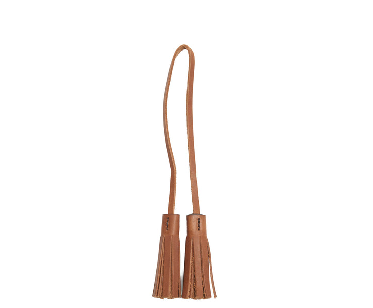 Espresso Hover Leather tassel keeper