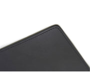 Black Hover Leather mouse pad