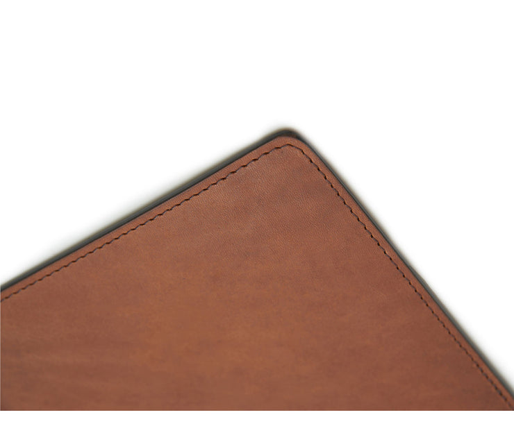 Espresso Hover Leather mouse pad