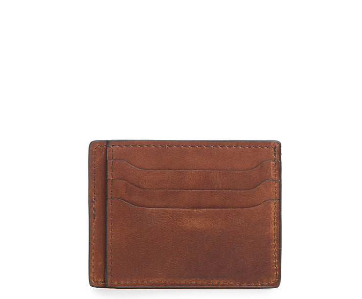Espresso Hover Slim leather wallet