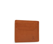 Tan Hover Slim leather wallet