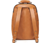 Tan Hover Classic Leather Backpack