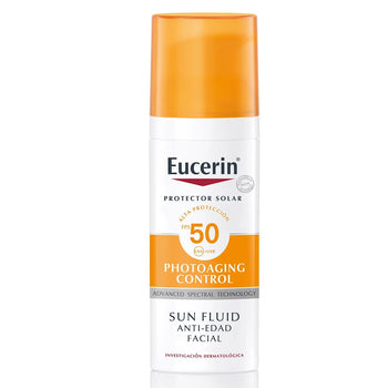 BDF EUCERIN SUN FLUID  FPS50 ANTI AGE FACIAL 50ML