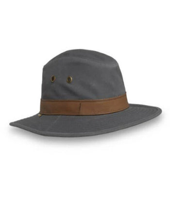 SUN LOOKOUT HAT FLINT M