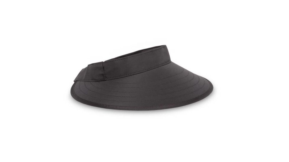 SUN SPORT VISOR ONE BLACK