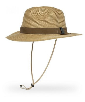 SUN EXCURSION HAT BURLAP L