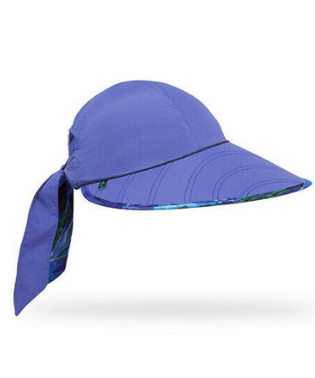 SUN SEEKER HAT O/S PURPLE LARKSPUR