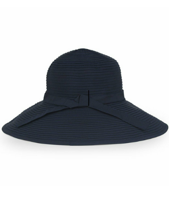 SUN BEACH RIBBON HAT NAVY