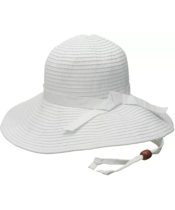 SUN BEACH RIBBON HAT WHITE