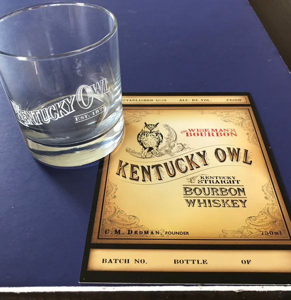 Kentucky Owl Cocktail Glass