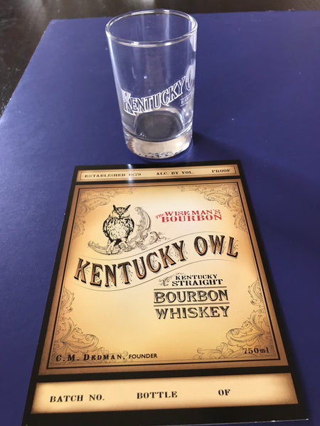 Kentucky Owl Shot Glass