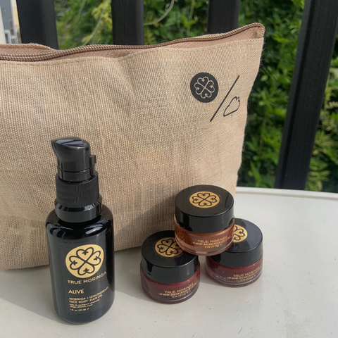 The Mindful Makeup Bag - True Moringa