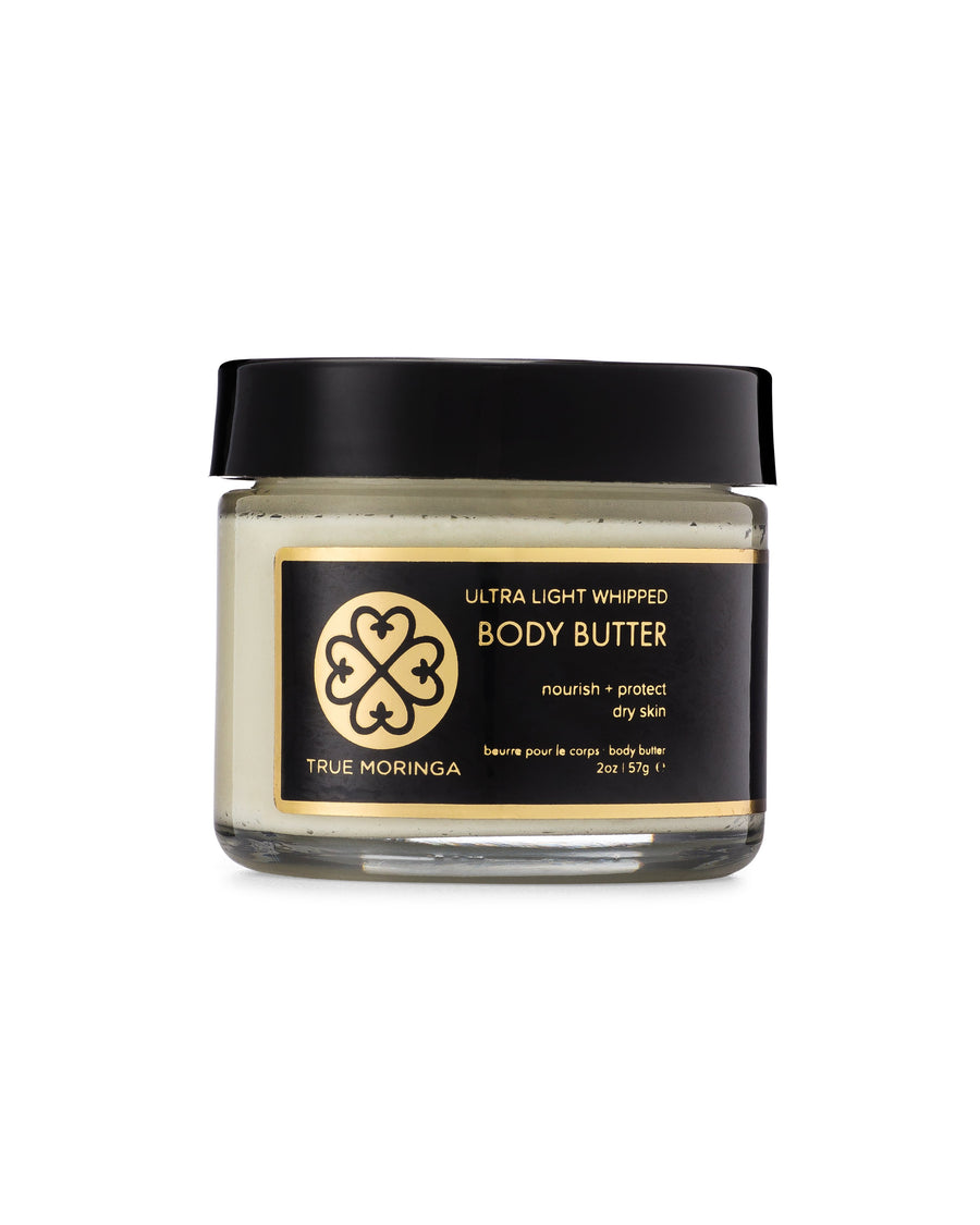 Ultra Light Whipped Body Butter (2oz) - True Moringa