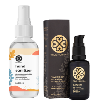 Hand Care Essentials Kit - True Moringa