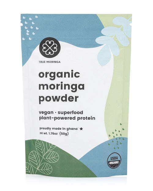 Organic Moringa Powder (50g) - True Moringa