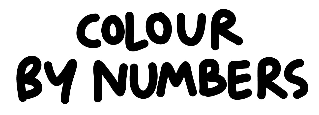 Colour by numbers Sighthound Collars