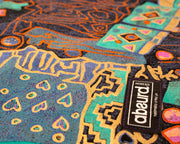 close up of Arabian Nights bandana cotton fabric