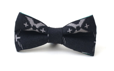 black stylish fabric dog bow