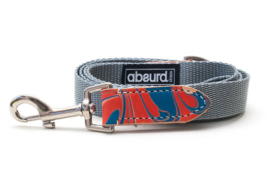 Britannia Blue and Red Dog Lead Leash
