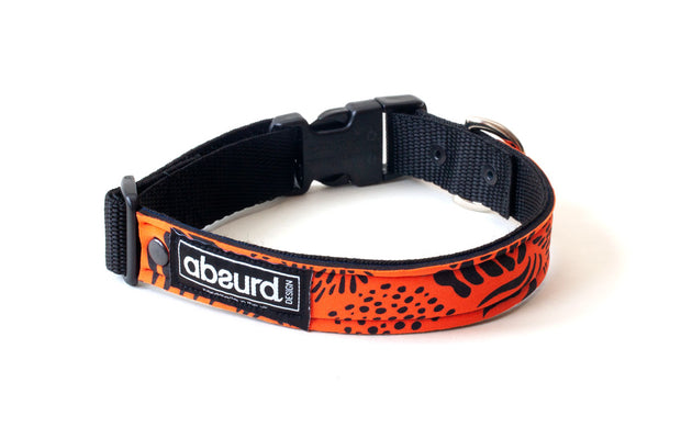 Neoprene Dog Collar: Hazard