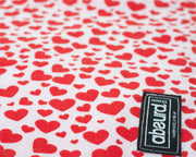 pretty heart pattern of Heartbreaker dog bandana