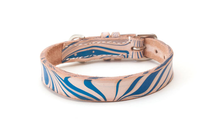 Leather Dog Collar: Siren