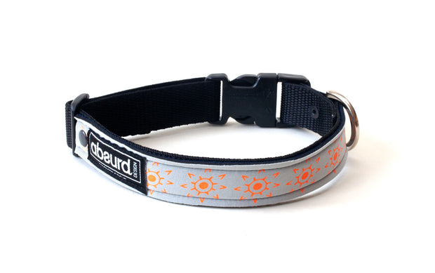 Neoprene Dog Collar: Sun God