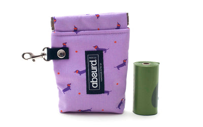 Dog Poop Bag Holder & Dog Treat Bag: Dotty Dog