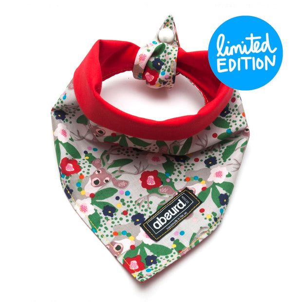 Fun Dog Bandana: Winter Folklaw