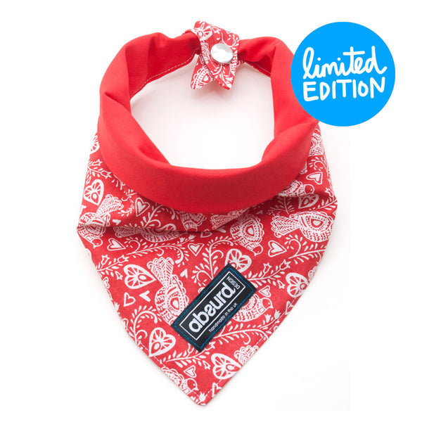 Dog Bandana : Love Birds