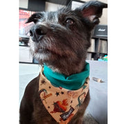 Fun Dog Bandana: Inked