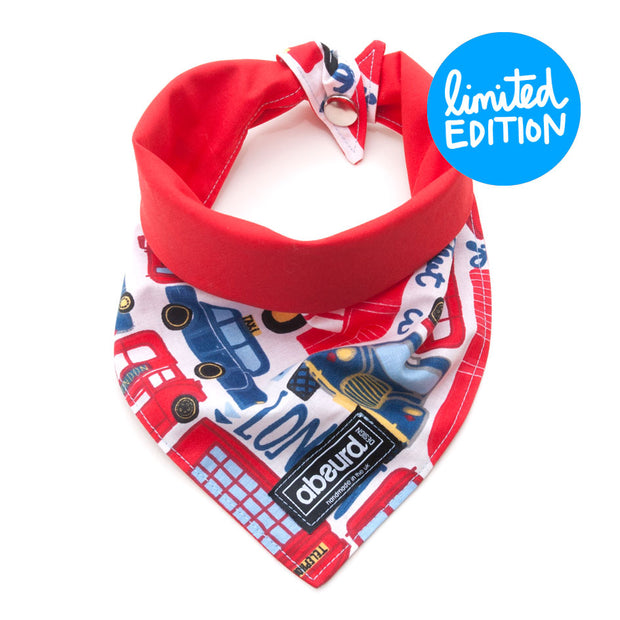 Fun Dog Bandana: Piccadilly Circus