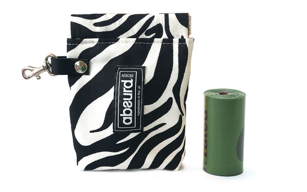 Dog Poop Bag Dispenser & Dog Treat Bag: Sahara