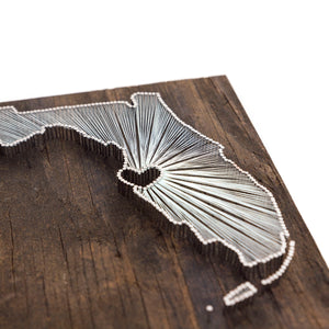 Florida String Art