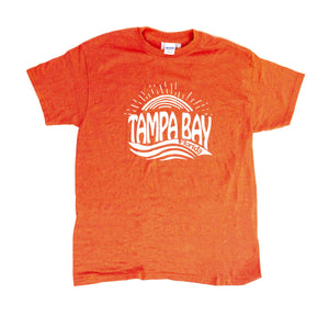 Open image in slideshow, Tampa Bay Sunset Vintage T-Shirt