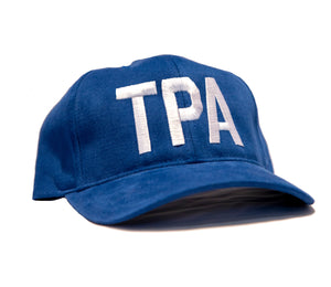 TPA Adjustable Hat - Blue