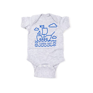 Tampa Bay Pirate Ship Onesie
