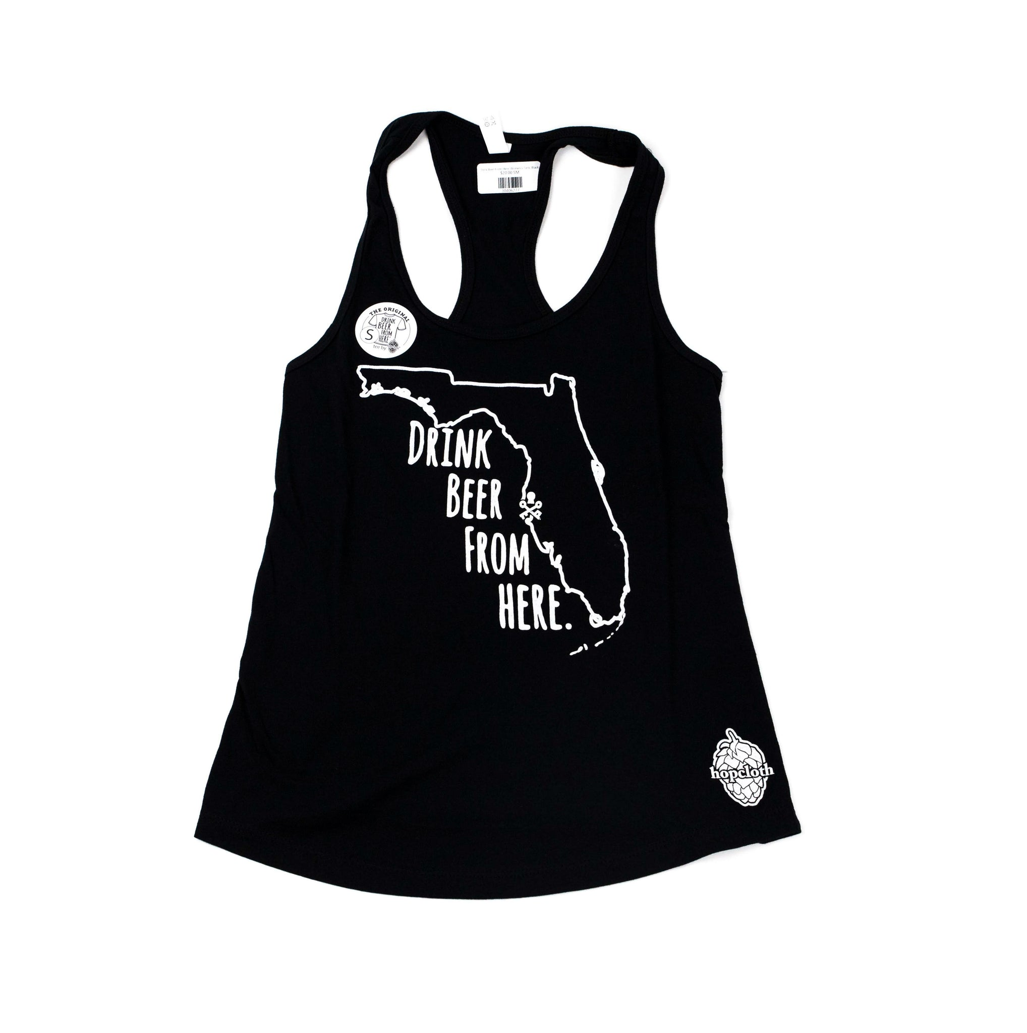 Drink Beer From Here - Women's Tank (Black)