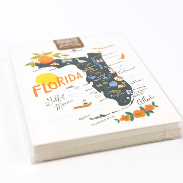 State of Florida Cards (set of 8)